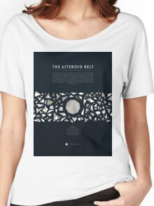 Ceres and the asteroid belt Women's Relaxed Fit T-Shirt