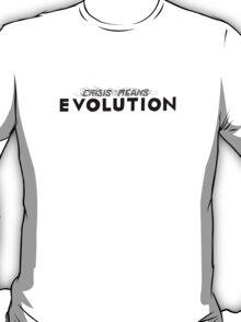 Crisis Means Evolution Handlettering T-Shirt