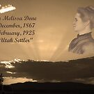Ellen Melissa Done (wife of Amasa Lyman Jones) A Pioneer History by jansnow