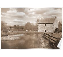Old Mill at Bunratty Poster