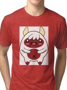 Cute Red Monster Tri-blend T-Shirt