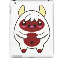 Cute Red Monster iPad Case/Skin