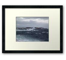 Rock-Bound Coast Framed Print