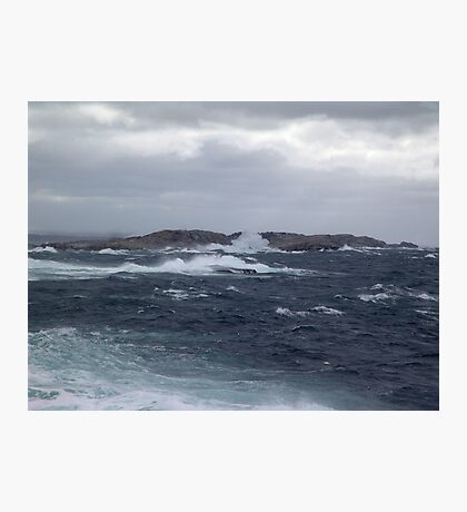 Rock-Bound Coast Photographic Print