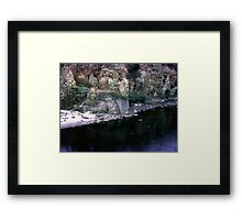 Fishing,Ottawa River,1954 Framed Print