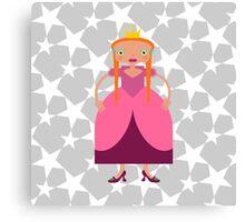 Beautiful Fairy Tale Princess Canvas Print