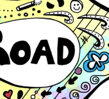 On the road again tour 2015 Sticker
