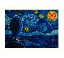 Venture Bros. Starry Night Art Print