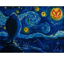 Venture Bros. Starry Night Photographic Print