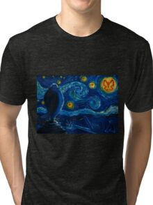 Venture Bros. Starry Night Tri-blend T-Shirt