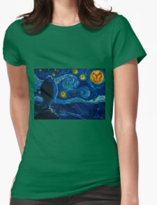 Venture Bros. Starry Night Womens Fitted T-Shirt