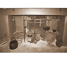 Bunratty Cottage Fireplace Photographic Print