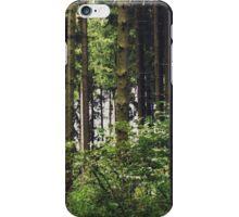 { depths of green } iPhone Case/Skin