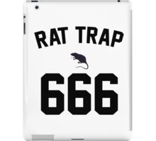 Rat Trap 666 iPad Case/Skin