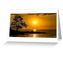 Sunsets and Silhouettes Greeting Card