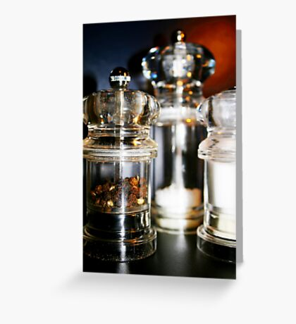 Salt and Pepper Greeting Card
