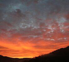 Glassmine sunrise by Forrest Tainio