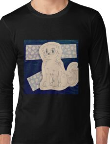 Snow puppy ! ❄ ❅ Long Sleeve T-Shirt