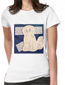Snow puppy ! ❄ ❅ Womens Fitted T-Shirt