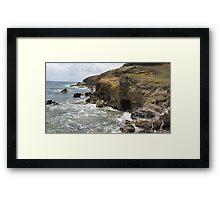 Lucian Atlantic Coast Framed Print