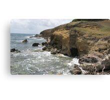 Lucian Atlantic Coast Canvas Print