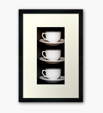 Cafe Au Lait? Framed Print