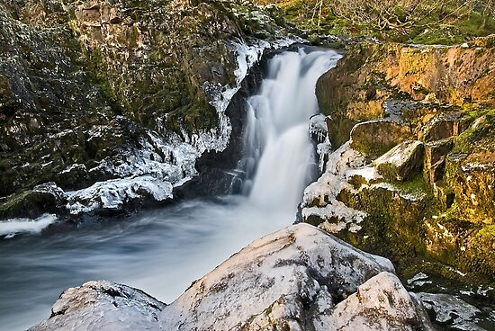 Skelwith Force, Cumbria by Steve  Liptrot