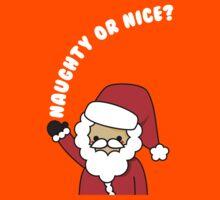 Adorable Kawaii Cartoon Santa Claus Greeting Card Kids Clothes