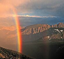 TRAIL RIDGE RAINBOW by Chuck Wickham