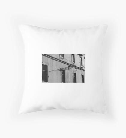 Lisbon Shadows Throw Pillow