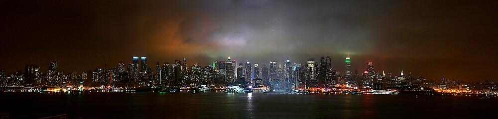 NYC Skyline by Fraser Ross
