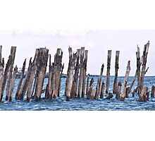 Piling Thoughts Photographic Print