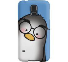 Eyebrow Penguin Samsung Galaxy Case/Skin