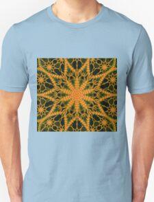 ©DA Neon Fractal VI 2 Unisex T-Shirt