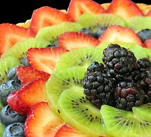 Grand Fruit Tart by tali