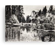 """Bridge in the Park number 1"" Canvas Print"