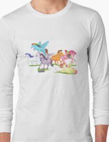 Little Ponies - My Little Pony Long Sleeve T-Shirt