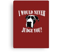 Pit bull love (option 2) Canvas Print