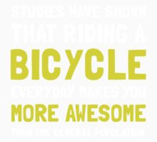 Bicycle More Awesome 2 Kids Clothes