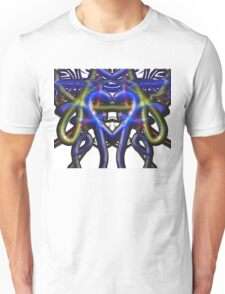 ©NLE Bubble Neon Heart Unisex T-Shirt