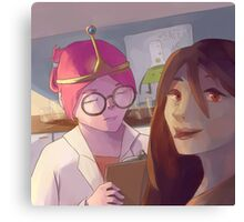 Bubbline Canvas Print