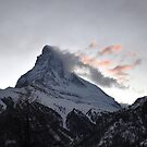 Matterhorn at Sunset by Rosy Kueng