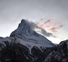 Matterhorn at Sunset by Rosy Kueng