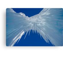Ice Castle Heaven  Canvas Print