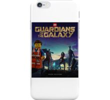 Emmet joins the Guardians  iPhone Case/Skin