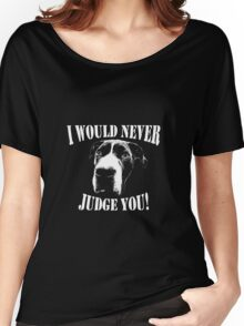 Pit bull love  Women's Relaxed Fit T-Shirt