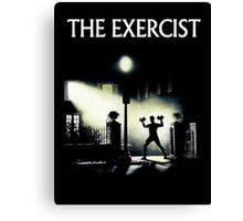 The Exercist Canvas Print