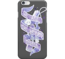 We Are The Weirdos iPhone Case/Skin