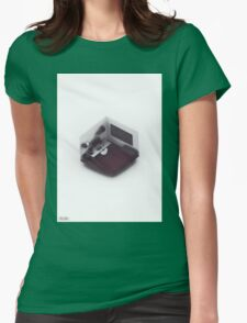 Isometric Office. Womens Fitted T-Shirt