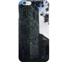 37 ft Saxon tower St Andrews Middleton North Yorkshire England 198406020100 iPhone Case/Skin